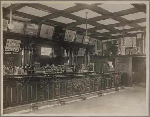 """McGreevy's Bar, 3rd Base, was the first documented American sports bar with the clever moniker, """"Your last stop before home."""""""
