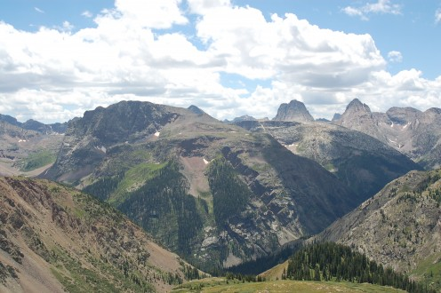 Highland Mary Lakes Trail, near Silverton, CO