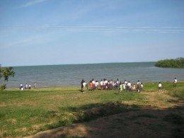 Lake Victoria, as seen from Uganda, has potential as a useful conduit for regional trade