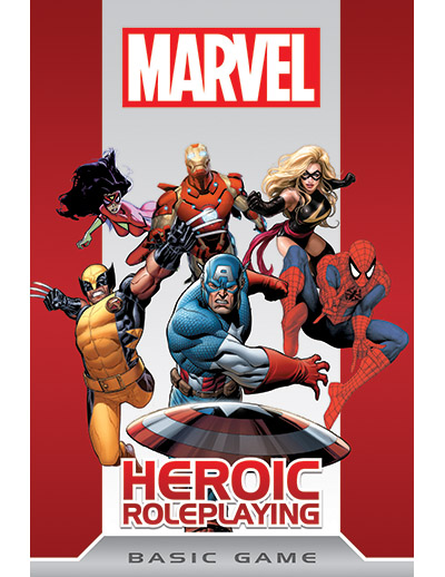 Cover of the New Marvel RPG