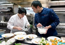 James Beard Award Winning chef Barbara Lynch and Paul