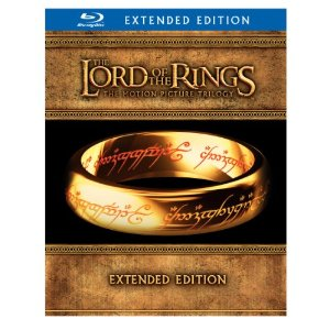 Blu-ray Wide Screen Edition - The Lord of the Rings: The Motion Picture Trilogy (The Fellowship of the Ring / The Two Towers / The Return of the King (2011) | image credit: Amazon
