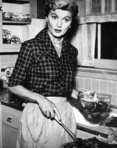 Barbara Billingsly as June Cleaver