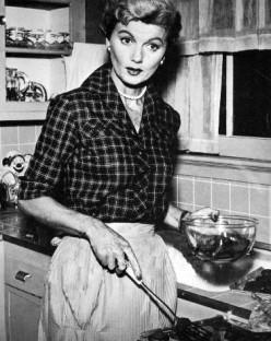 Barbara Billingsly as June Cleaver