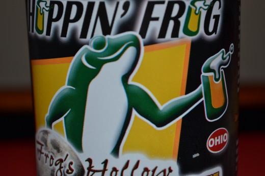 Good Beer...Mean Frog