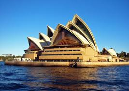 Sydney Opera House, was going to be built when I stopped in Sydney the first time