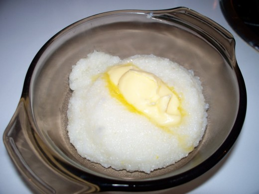 Grits can be a great treat on their own, or as a side dish.