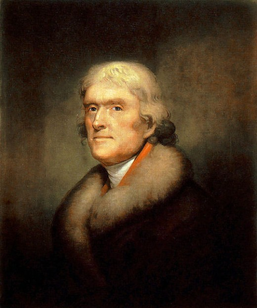 Thomas Jefferson, principal author of the Declaration of Independence