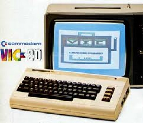 The famous commodore Vic20