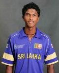 Dinesh Chandimal  contributed 75