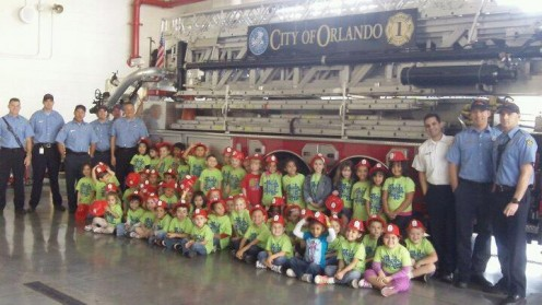 Field Trip to the Firehouse