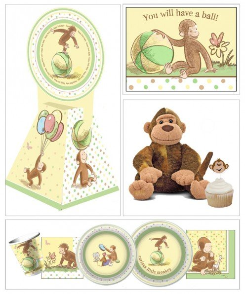Curious George Baby Shower Decorations