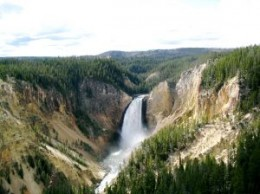 Yellowstone National Park is located primarily in Wyoming USA and receives approximately 2 million visitors annually