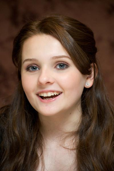 Abigail Breslin is Valentine in the upcoming Ender's Game movie in 2013.