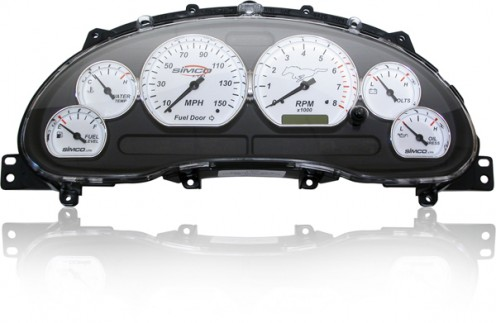 Instrument Cluster of a Mustang GT
