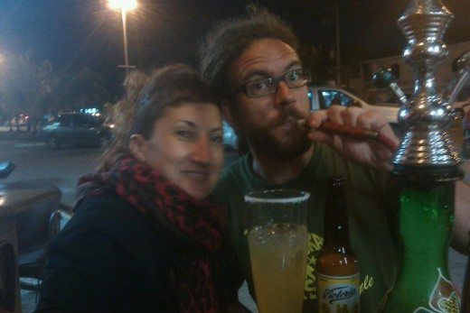 Maria and Canas from Barcelona