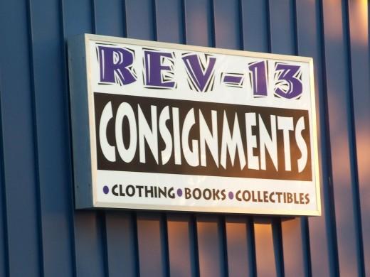 REV-13 Consignments