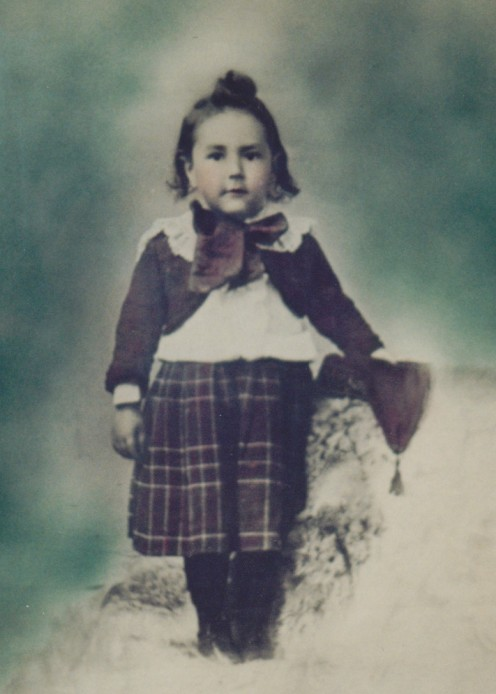 My Grandpa Anderson in his Scottish kilt as a child. The original picture hangs in my father's home.