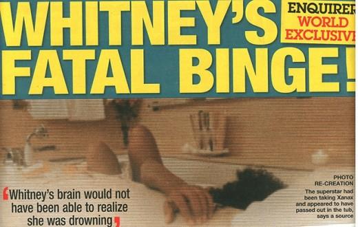 Whitney Houston Death Casket
