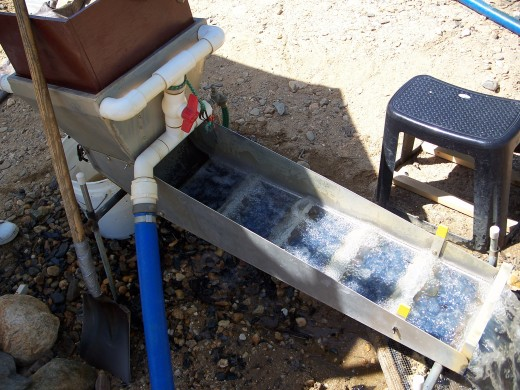 Modern Sluice Box for Gold Panning