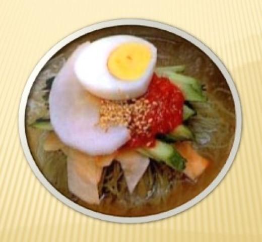 NAENG MYUN (Buckwheat Noodles)