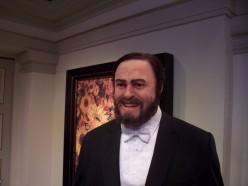 Luciano Pavaroti - Wax Figure