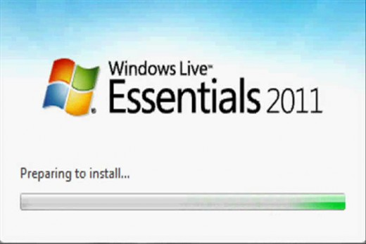 Double-click the executable file you downloaded to launch the Windows Live Essentials 2011 installer program.