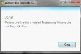 """Click """"Close"""" after the installation is finished."""