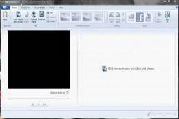 The Windows Live Movie Maker program.