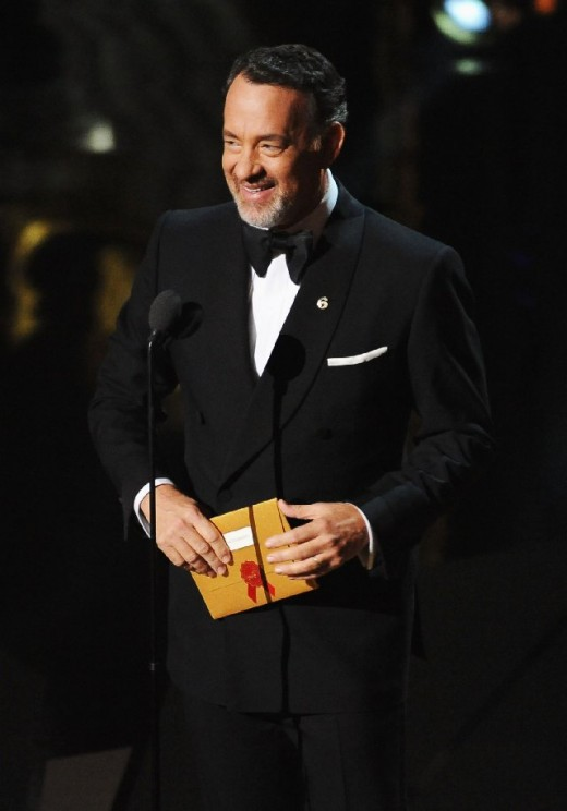 Tom Hanks at the Academy Awards