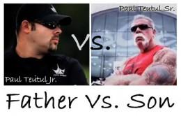 Paulie Jr and Paul Sr.