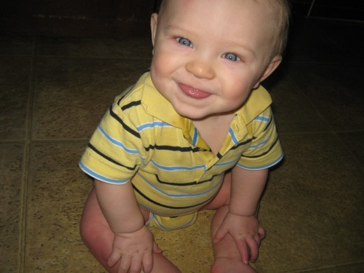 Damian at 9 months