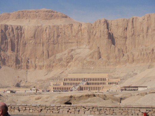 Queen Hatshepsut's palace