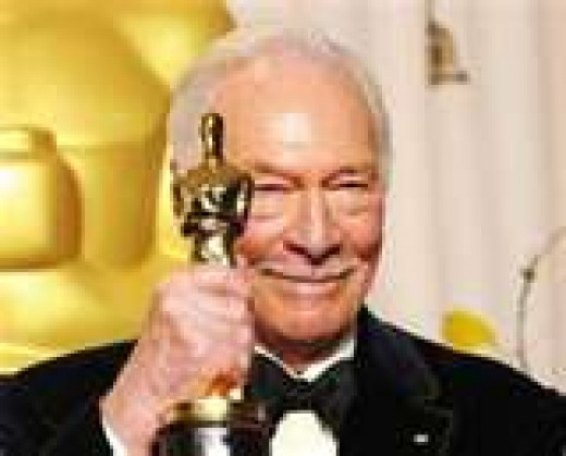 "at 82 the oldest actor to ever receive an Academy Award (for ""Beginners"" 2012)"