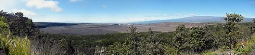 Mauna Loa from Kilauea