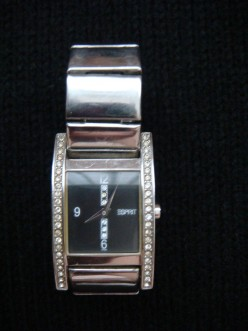 Silver watch, another present from my brother Michbern and his wife, Christie.