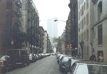 The World Trade Center before the tragedy. This image may not be reproduced, copied, or used for any purpose without the written permission of the photographer/author.