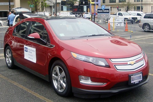 2012 Chevy Volt  $40,000 base price