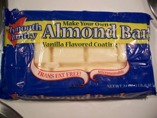 Almond Bark   (white chocolate)