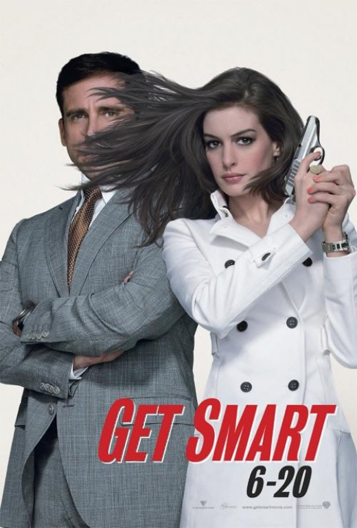 Funny movie.  Anne Hathaway is hawtness. (getsmartmovie.warnerbros.com)