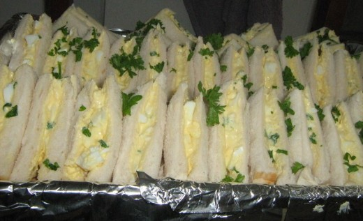 Egg Mayo Sandwiches Recipe