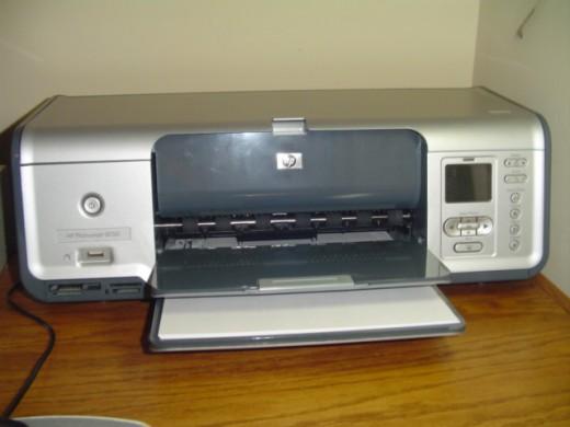 A used Photosmart 8050 printer
