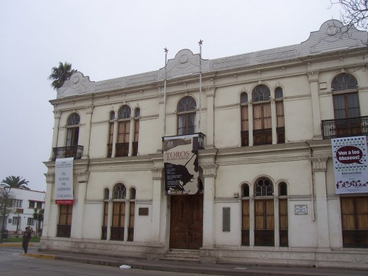 The Museum in La Serena, a colonial style building