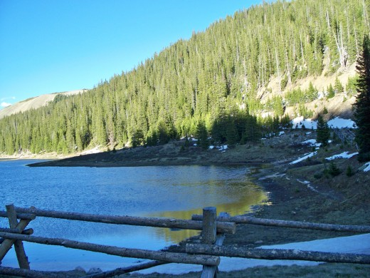 Mountain Lake - Near Milner Pass