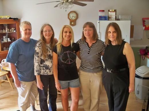 The five sisters taken in 2011