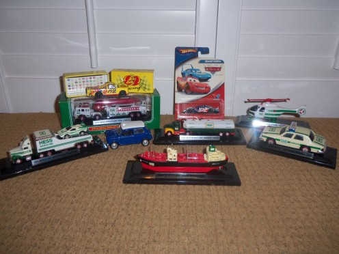 There's tons of other toys out there on the market, which are great accessories with Lionel trains.