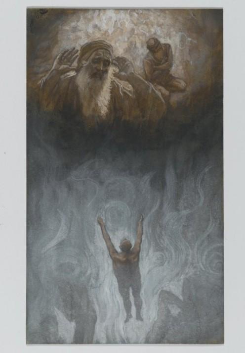 The Rich Man in Hades, James Tissot (1836-1902)
