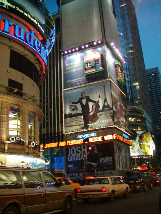 sitting in my limo awaiting my clients exit from the theater. On 42nd St facing east.               © Eric Heifetz