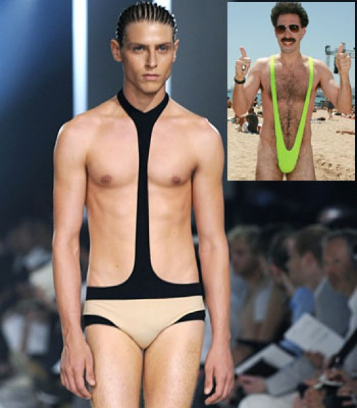 Fashion drones picking up the trend...