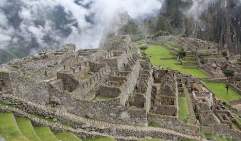 Breathtaking View of Machu Picchu